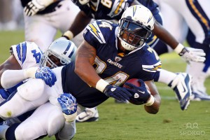 Mathews will have a tough time avoiding tackles against Houston.