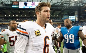 Cutler is going to have a tough time against a much improved Saints secondary.