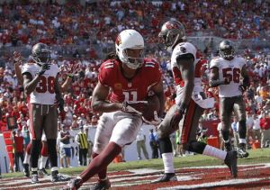 It took until late in the fourth quarter, but Fitzgerald was able to grab the Cardinals only touchdown.