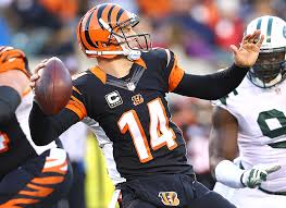 I like the chances that Dalton throws for another 300 yards with hopefully two more more touchdowns.