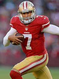 Kaepernick is sitting outside the top-12 fantasy quarterbacks for the season but could be top-5 at the position this week.